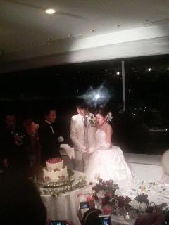 結婚式に行って来ました